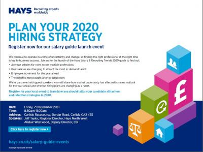 Hays Salary Guide Launch