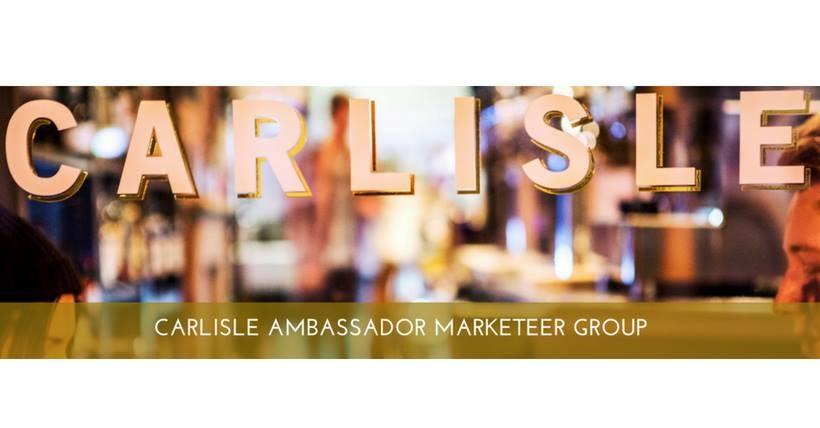 Carlisle Ambassador's Marketeer event - Borderland slides