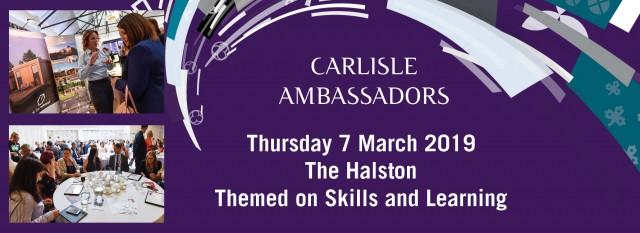 Carlisle Ambassador's event - 7th March 2019 The Halston