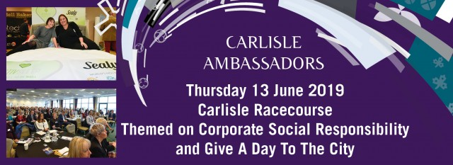 13th June 2019 event … Theme is ...Corporate Social Responsibility and Give A Day To The City