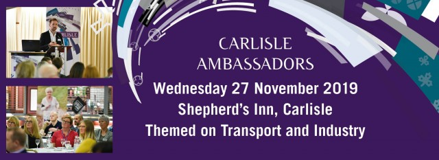Carlisle Ambassadors November event - Shepherd's Inn 27th November 11am to 2.30pm - themed on Transport and Distribution ... and a little Xmas theme in there as well.