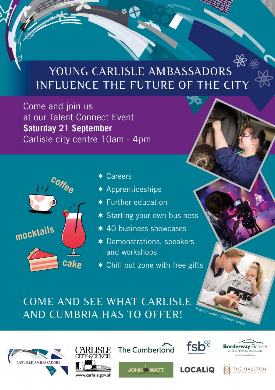 Young Carlisle Ambassador's Talent Connect Event - That's TV Cumbria Video