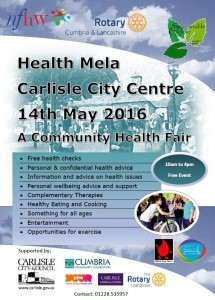 Carlisle Health Mela 14 May 2016