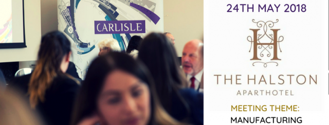 May 18 at the Halston - Manufacturing on the Menu at Carlisle Ambassadors