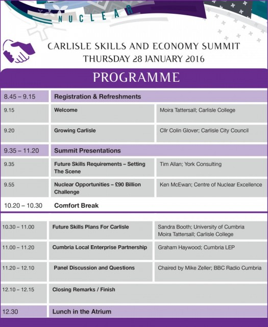 Carlisle Skills and Economy Summit
