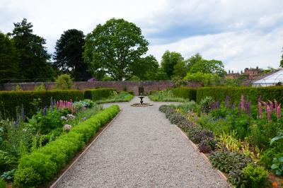 Walled Garden at Netherby Hall