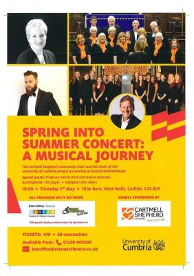 Spring into Summer Concert: a musical journey!