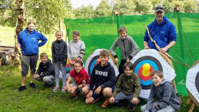 Archery at Talkin Tarn